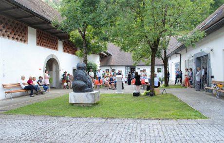 Atrij Tehniškega muzeja Slovenije v Bistri