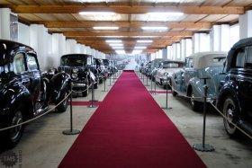 Pogled na zbirko protokolarnih vozil