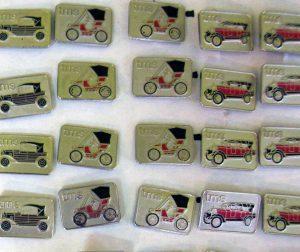 Badges (Mercedes, Wanderer, Austro daimler, Piccolo, Rollce Royce)
