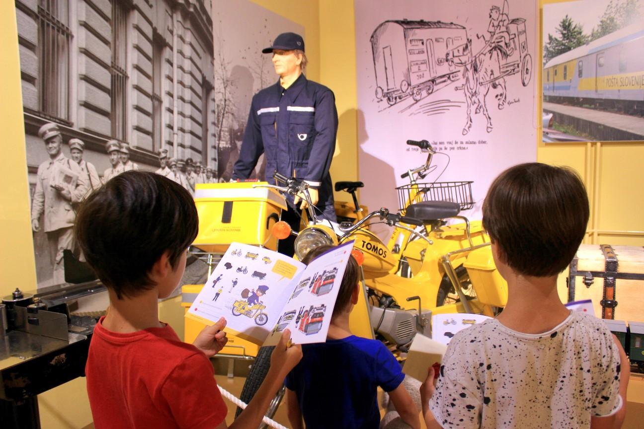 Muzej pošte in telekomunikacij. Foto: Jaka Blasutto