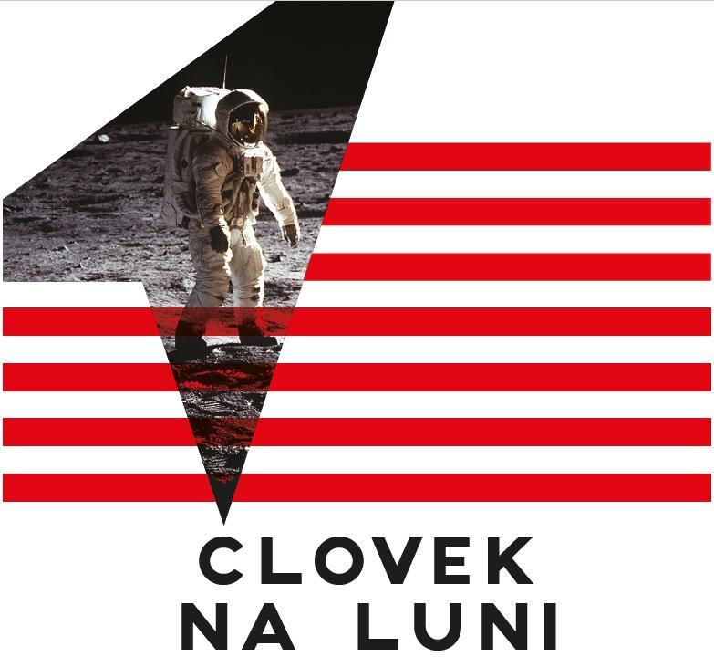 Plakat Človek na Luni