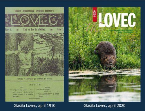 110 let glasila Lovec