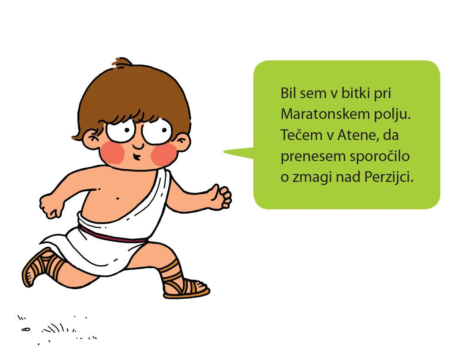 Ilustracija maratonca
