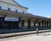 Snemanje zvokov v Ljubljani