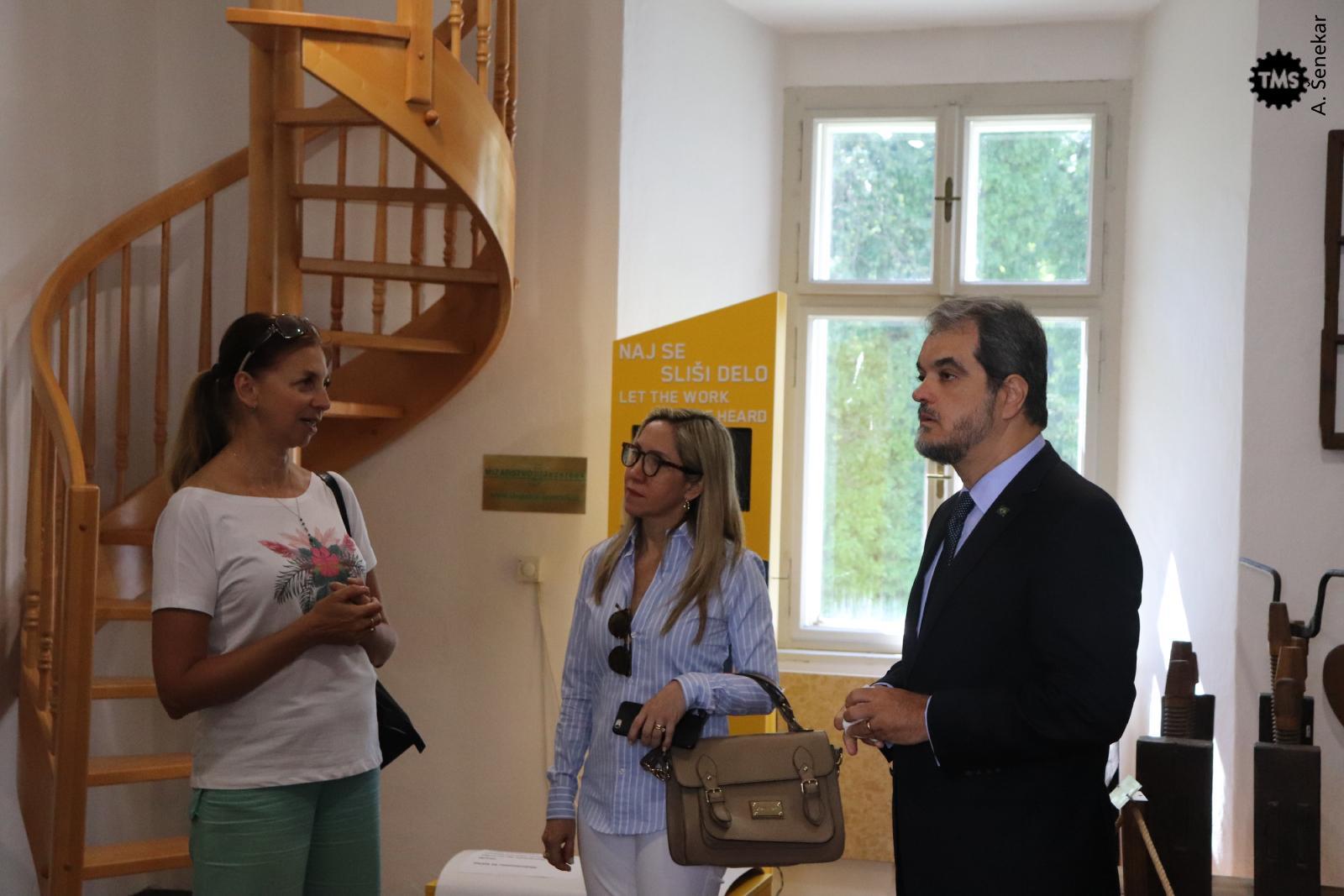 Obisk brazilskega veleposlanika g. Renata Mosca de Souza