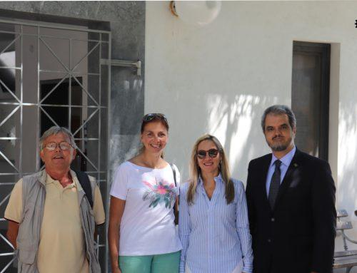 Visit of his excellency Renato Mosca de Souza