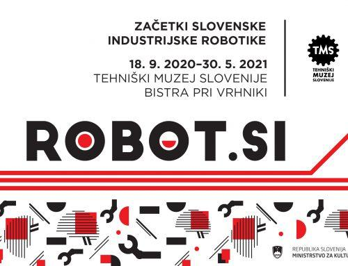 New temporary exhibition in TMS in Bistra: ROBOT.SI