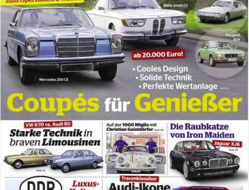 Article in the Auto Classic magazine