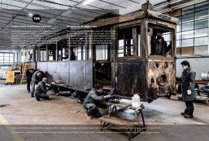 Restavriranje Lobetovega tramvaja