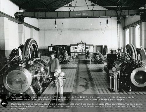 Začetki elektrifikacije na Slovenskem