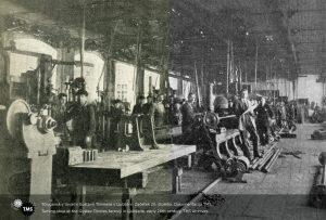 Strugarna v tovarni Gustava Tonniesa