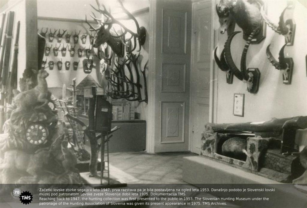 Začetki lovske zbirke