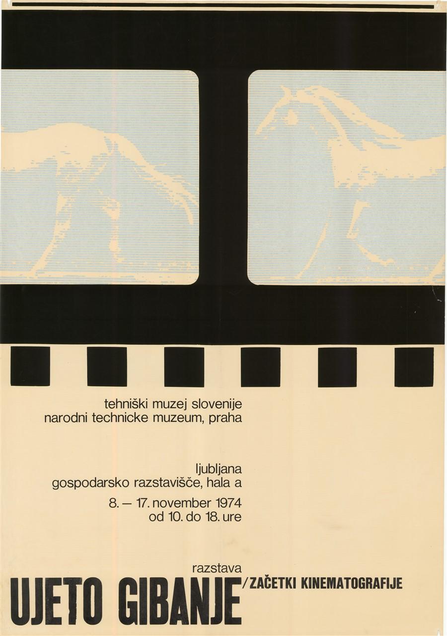"Plakat ""Ujeto gibanje"", 1974"