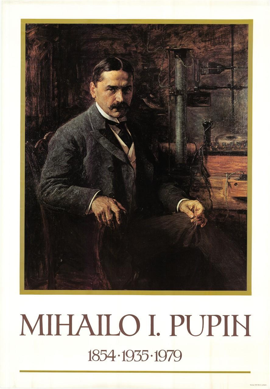 """Plakat """"Mihailo Pupin"""", 2007"""