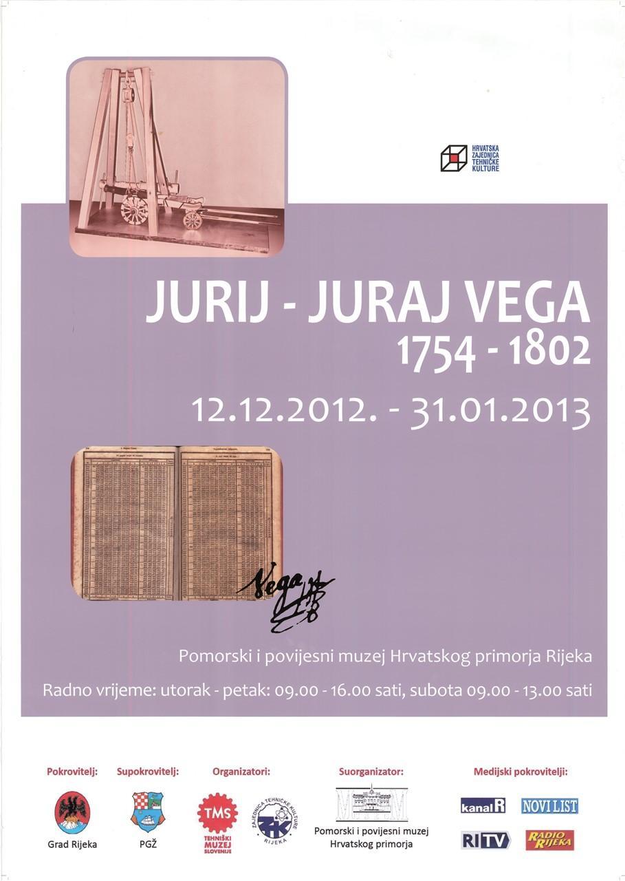 "Plakat ""Jurij - Juraj Vega"", 2012"