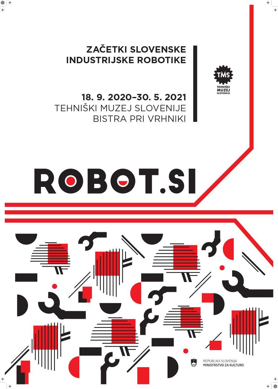 """Plakat """"Robot.si"""", 2020"""