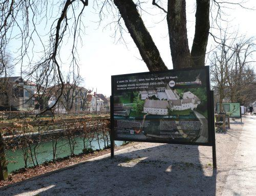 Photo exhibition: With You for a Good 70 Years in the center of Ljubljana