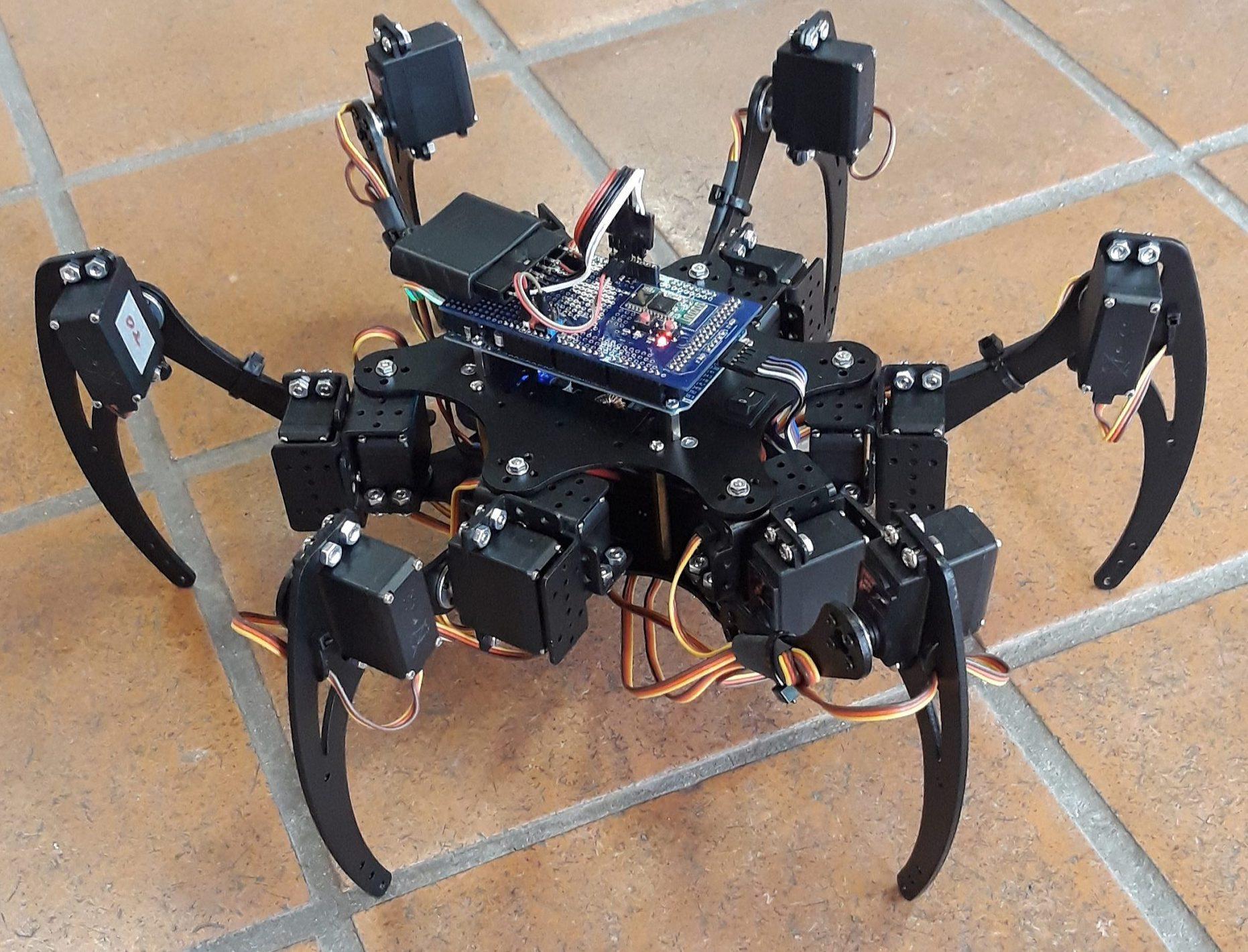 robotski pajek 1
