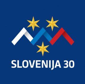 logo 30 let Slo