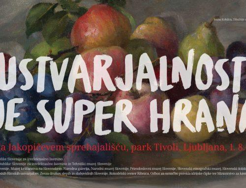 Razstava 'Ustvarjalnost je super hrana' v ljubljanskem parku Tivoli